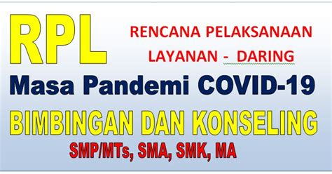 Please copy and paste this embed script to where you want to embed. RPL DARING BK SMP/MTs, SMA, MA, SMK KK-13 PADA MASA PANDEMI COVID 19 TAHUN AJARAN 2020/2021 ...