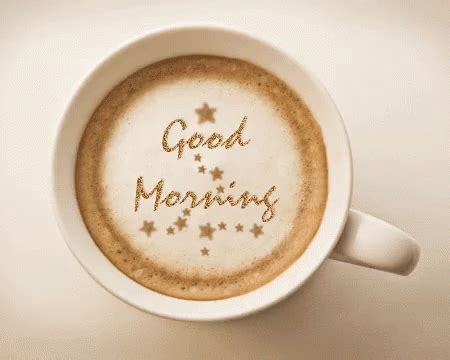 A beautiful cup of coffee is always brighten mood in morning, if you are a serious coffee drinker then you would know what it means to live a day without coffee loved ones. Good Morning Coffee GIF - GoodMorning Coffee Greeting ...