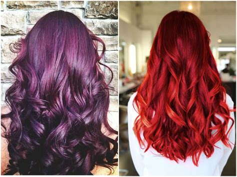 Top 20 Transformations With Maroon Hair Color