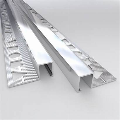 Box Chrome Trims Tile Edge Square Aluminium
