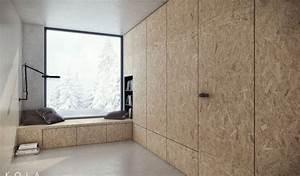Mur En Osb : tendencia madera en muros vive totalmente palacio ~ Melissatoandfro.com Idées de Décoration