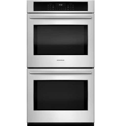zekshss monogram  electric double wall oven