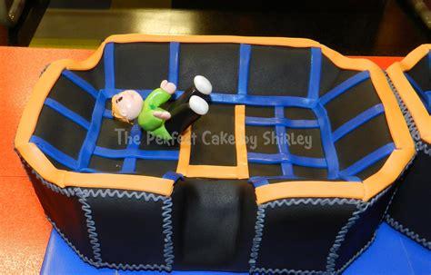 sky zone trampoline cake cakecentralcom