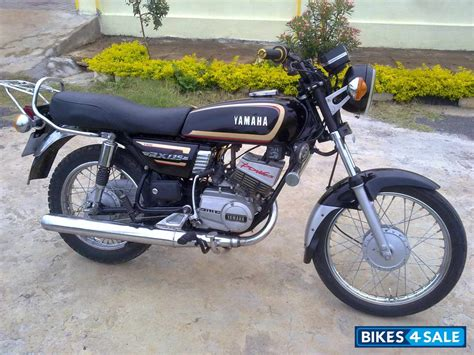 used 1998 yamaha rx 135 for sale in bangalore id 97749 black colour bikes4sale