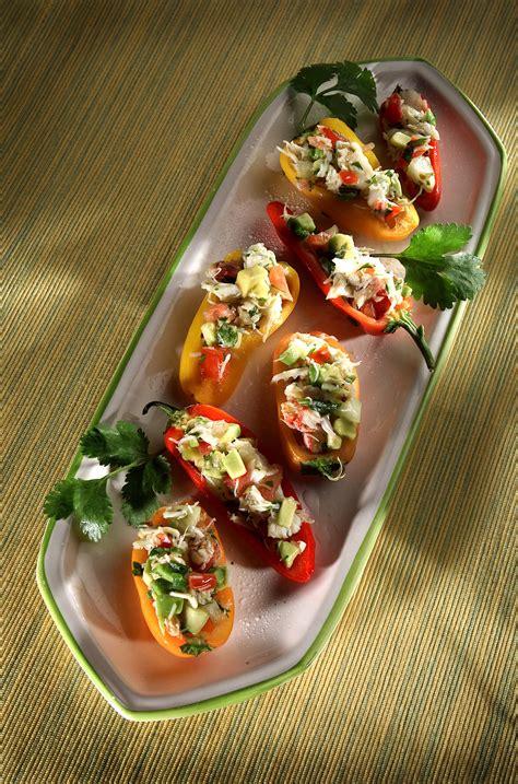 recipe baja crab stuffed peppers california cookbook