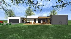 maison architecte plain pied segu maison With plan maison de campagne 9 une maison design darchitecte plain pied en angleterre