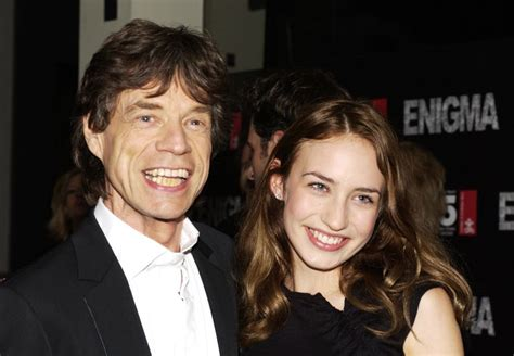 mick jagger   daughter born  adopted  fame