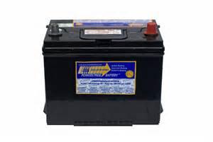 Nissan Xterra Battery Size