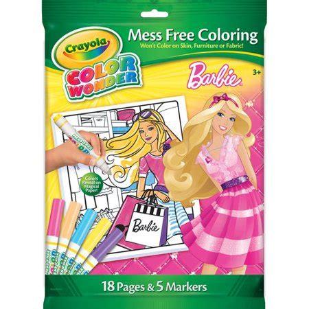 crayola color  barbie overwrap kit walmartcom