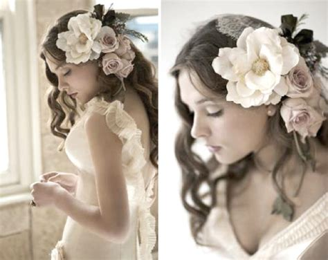 Wedding Hairstyles Down :  Wedding Hairstyle Long Brooch Traditional
