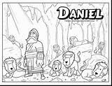 Daniel Coloring Pages Den Bible Lions Lion Sheet Sheets Colouring Printable Heroes Deviantart Behance Unique Crafts Sunday Superhero Story Lessons sketch template
