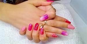 Ongles En Gel Rose : ongle en gel couleur rose fluo ~ Melissatoandfro.com Idées de Décoration