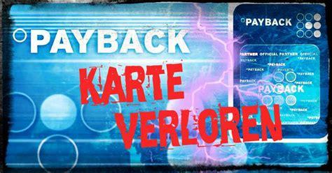payback karte verloren  erhaelt man schnell ersatz
