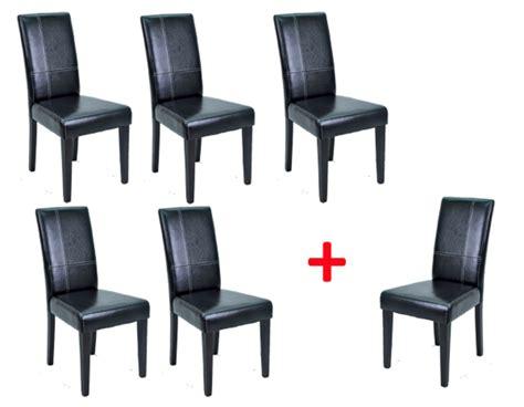 chaise salle a manger noir lot de chaises de salle a manger 28 images lot de 2