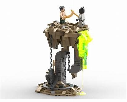 Tensegrity Pit Lazarus Moc Lego Rebrickable Build
