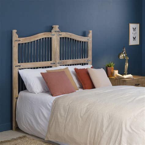 Vous rêvez d'une tête de lit 160 ? Tête de lit porte bois métal 160cm - Made in Meubles