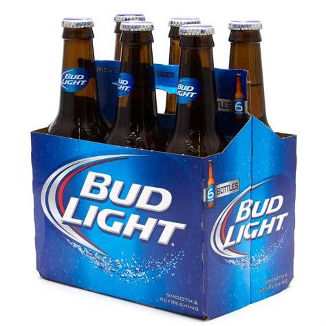 bud light beer bottle bud light 12oz bottle 6 pack beer wine and liquor