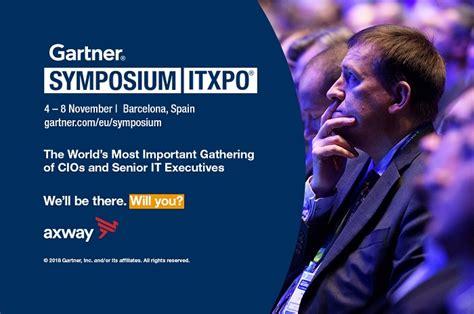 November 4th! Gartner Symposium Itxpo 2018 Is Coming