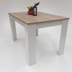 Tischplatte 120x80 Weiß : esstisch 120x80 cm sonoma wei k chentisch esszimmertisch made in germany picclick de ~ Markanthonyermac.com Haus und Dekorationen