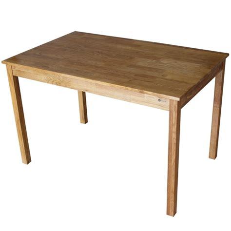 rectangular oak dining table homegear solid oak rectangular dining table the sports hq