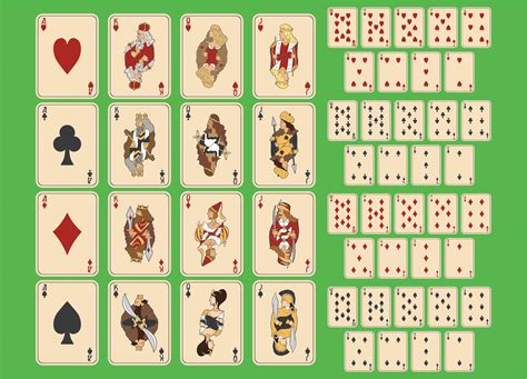 8 Best Deck Of Cards Printable