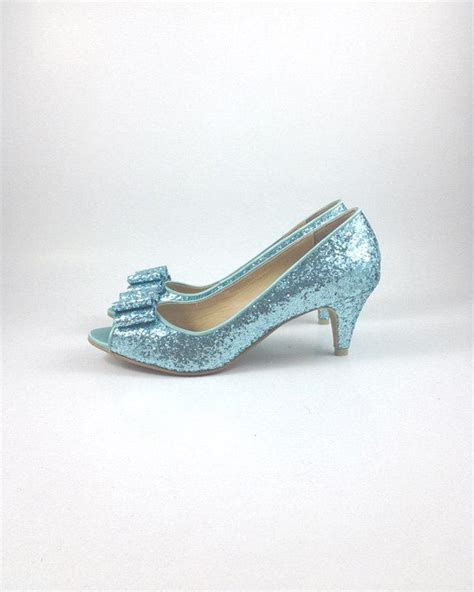 light blue shoes heels something blue wedding shoes blue glitter wedding shoes
