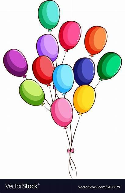 Balloons Drawing Simple Vector Drawings Easy Royalty