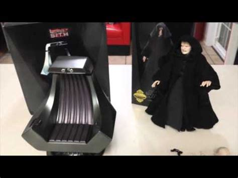 sideshow emperor palpatine and throne chair wars
