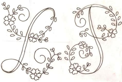 letras bordar gratis imagui bordados embroidery pinterest