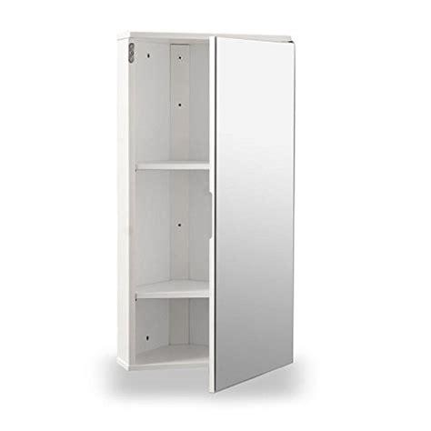Mirrored Corner Bathroom Cabinet by White Gloss Wall Hung Corner Bathroom Cabinet With Single