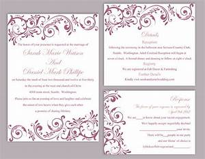 editable wedding invitation free download yaseen for With free editable wedding invitation templates for word