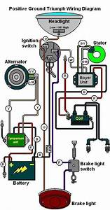 Schematic For Accel Super Coil    Bsa 650