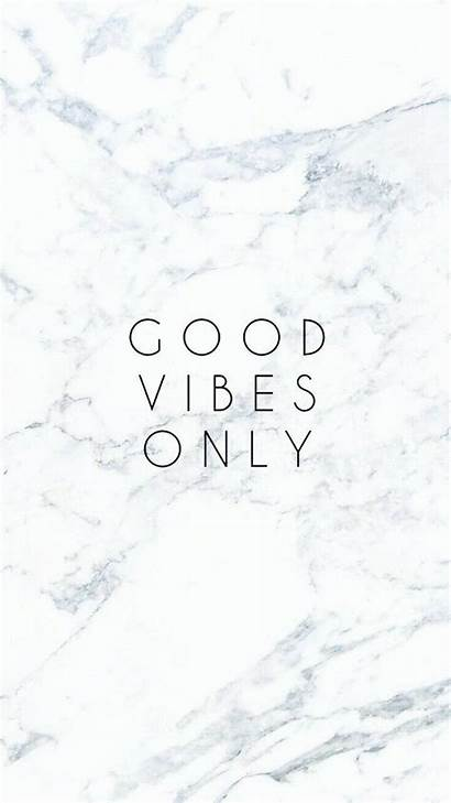 Vibes Backgrounds Marble Iphone Quotes Wallpapers Phone