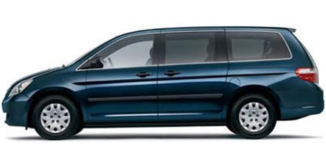 2005 Honda odyssey lx tire size