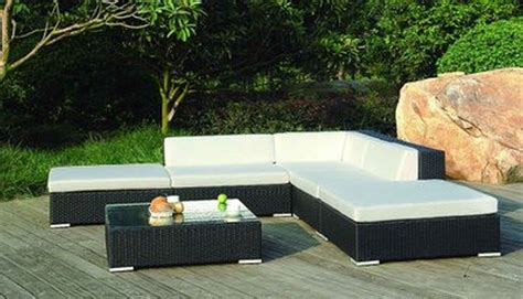 white rattan floor l modern patio furniture with chic treatment for fancy house