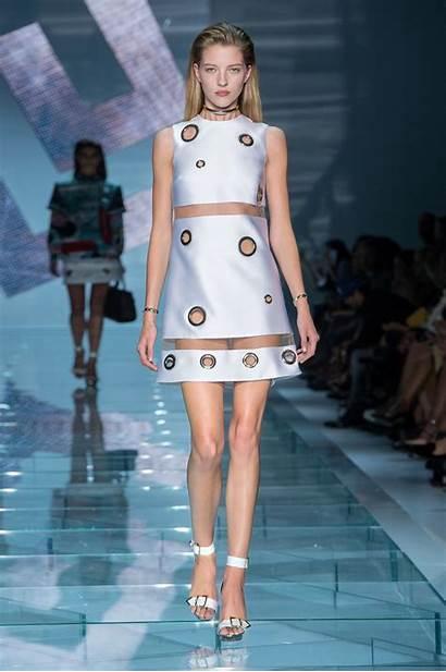 Versace Spring Summer Woman Milano Week