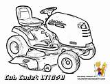 Coloring Deere John Pages Tractor Lawn Mower Colouring Sheets Cub Cadet Garden Unique Printable Colour Print Tractors Bossy Bold Children sketch template