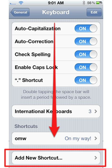 how to add words to iphone dictionary how to add words to the iphone s dictionary of the