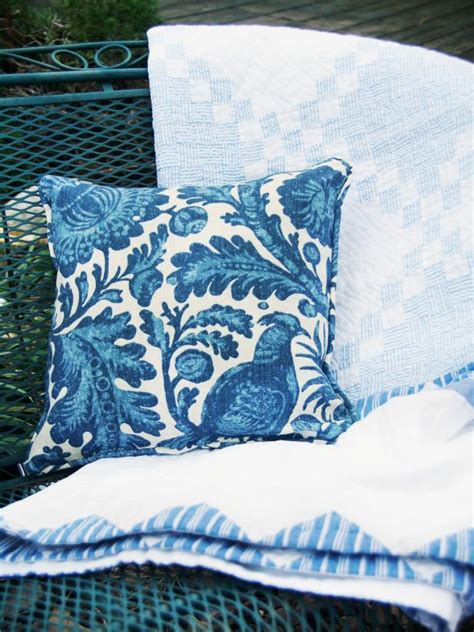 coordinating throw pillow for how to sew a simple outdoor pillow hgtv