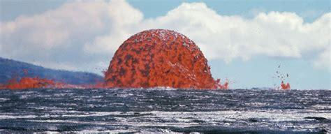 fiery volcano blob     alien orb