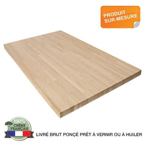 largeur plan de travail plan de travail bois du massif pour vos projets bois