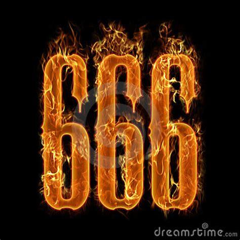 devils number  stock photo image