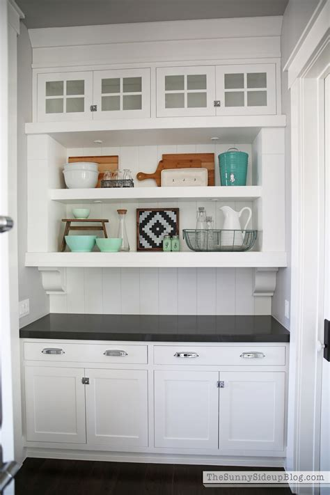 Open Kitchen Cupboard Ideas - butler 39 s pantry shelves the sunny side up blog