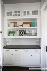 butler s pantry Butler's Pantry Shelves - The Sunny Side Up Blog