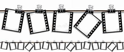 Film Strips Hanging Dry Strip Seamless Clipart