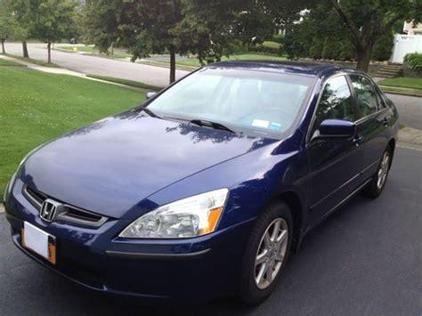 Sell Used 2003 Honda Accord Sedan Ex-l V6 Leather 44700