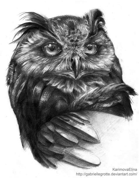 Eagle owl by GabrielleGrotte on DeviantArt