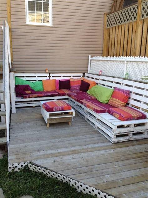 Lounge Möbel Paletten by Paletten Sofa Bauen Sitzkissen Lounge Bereich Garten
