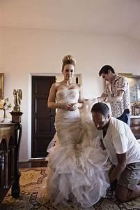 hilary duff gemma vera wang mermaid style wedding gown With hilary duff wedding dress