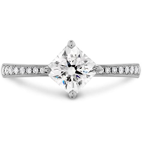 dream offset signature engagement ring diamond band